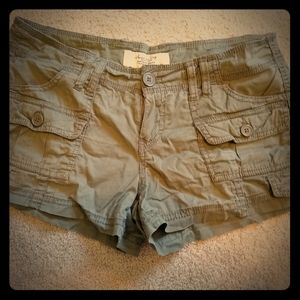 Junior Shorts Sz 0 American Rag Linen Tan New Tags $39